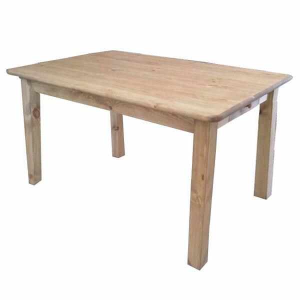 【送料無料】【無公害塗料】パイン材 カントリー調テーブル幅1200mm 自然塗料 ナチュラルな味わい 使えば使うほど味がでる◎ 多用途テーブル 作業台 ダイニングテーブル ヴィテージ アンティーク【偉い】
