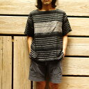 【SALE】MOJITO(モヒート)/WITH BUMBY T Bar.2.0半袖ボートネックシャツ