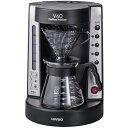 ハリオ EVCM-5TB(透明ブラック) V60珈琲王 コーヒーメーカー