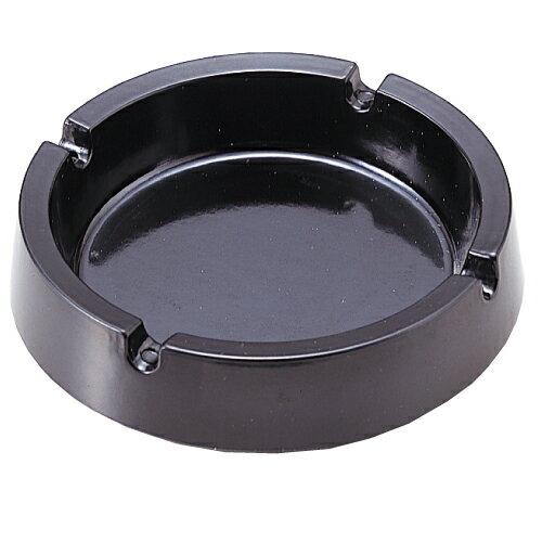 メラミン丸型灰皿(黒)...:onestep:10007737