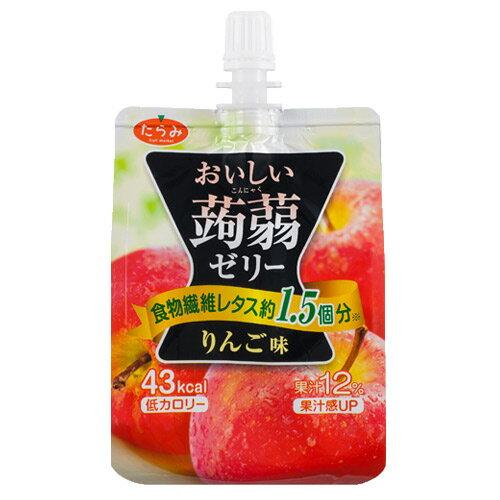 おいしい蒟蒻ゼリー りんご味 150g