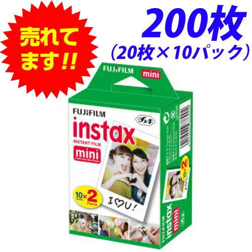 最安値挑戦!!富士フィルム チェキ用フィルム INSTAX MINI 2P(20枚)×10…...:onestep:10090400