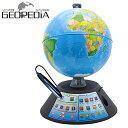 ドウシシャ しゃべる地球儀 パーフェクトグローブ GEOPEDIA PG-GP17 地球儀 インテリ...