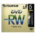 【売切れ御免】富士フイルム DVD-RW 4.7GB 1~2倍速データ用 5枚 DDRW47DX5M2X