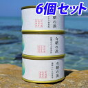 今朝の浜 3缶×2セット 【魚種おまかせ】【送料無料(一部地域除く)】