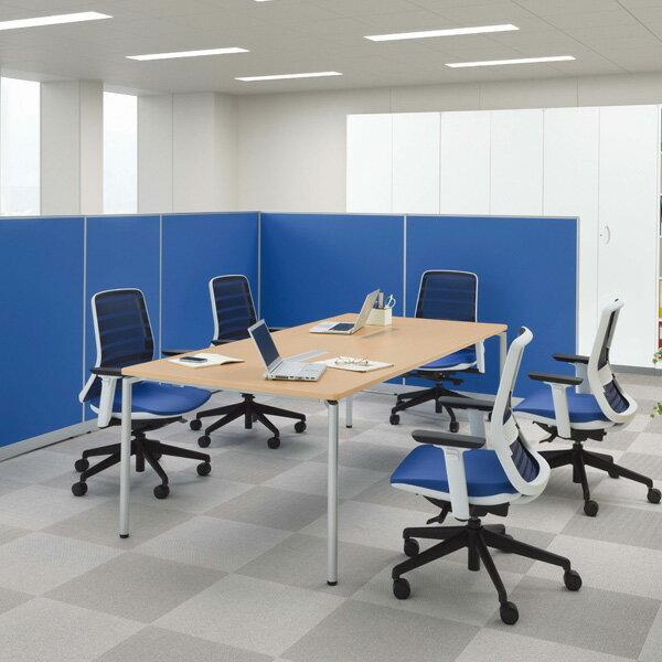 【受注生産品】生興 テーブル CR型会議用テーブル W1200×D900×H700 CR-1290TA【】 オフィス家具からオシャレ家具まで!シンプルなデザインのミーティングテーブル