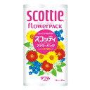 クーポン 日本製紙 クレシア スコッティフラワー トイレットペーパー