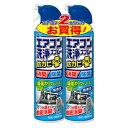 アース製薬 エアコン洗浄スプレー 防カビプラス 無香性 420ml×2本パック