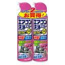 アース製薬 エアコン洗浄スプレー 防カビプラス エアリーフローラルの香り 420ml×2本パック