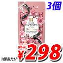 P&G レノアハピネス アンティークローズ&フローラルの香り 詰め替え 480ml×3個