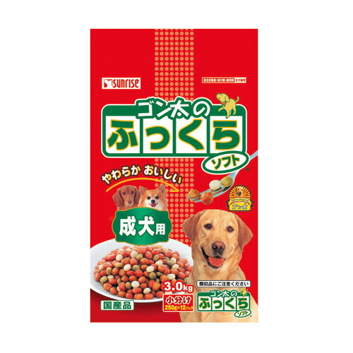 ゴン太のふっくらソフト成犬用3kg