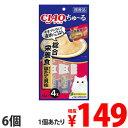 いなば CIAO ちゅ〜る 総合栄養食 まぐろ&ほたて貝柱 (14g×4本)×6個 SC-159
