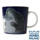 【枚数限定★100円OFFクーポン配布中】Arabia アラビア ムーミンマグ モラン The Groke 300ml マグカップ