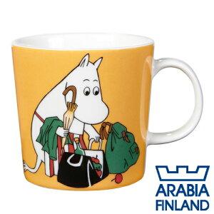 アラビア ムーミンマグ ムーミンママ アプリコット マグカップ