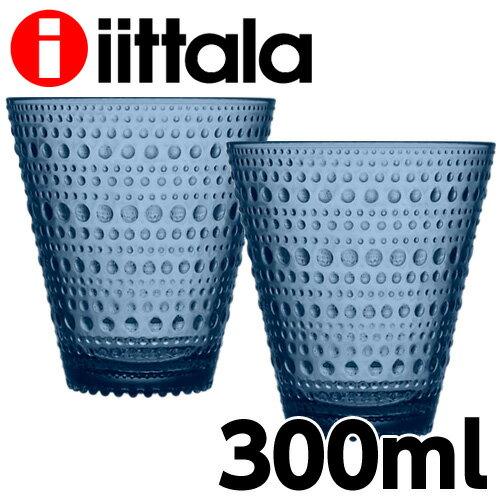 イッタラ iittala カステヘルミ KASTEHELMI タンブラー 300ml レイン ペア 2個セット