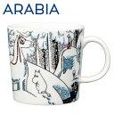 アラビア Arabia ムーミン マグ スノーホース 300...
