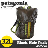 Patagonia �ѥ����˥� 49331 �֥�å��ۡ���ѥå� 32L Black Hole Pack ����ץե��쥹�� ������̵���ʰ����ϰ��ˡ�