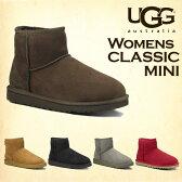 UGG アグ クラシックミニ ムートンブーツ ウィメンズ 5854 Classic Mini WOMENS レディースショートブーツ【送料無料(一部地域除く)】