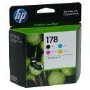 【枚数限定★100円OFFクーポン配布中】HP HP178 (CR281AA) 4色パック 純正 インク 178