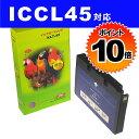 【ポイント10倍】ICCL45 4色一体型 EPSONリサイクルインク(互換性)〔IC45カラー〕