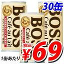 サントリー ボス缶コーヒー カフェオレ 190ml 30缶