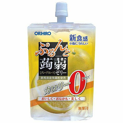 ぷるんと蒟蒻ゼリースタンディング 0kcal グレープフルーツ