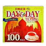 日東紅茶 紅茶ティーバッグデイ&デイ 100バック 【HLSDU】
