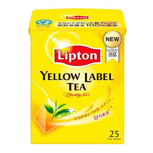 リプトン紅茶イエローラベルティー25バッグ