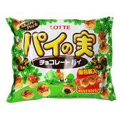 ロッテ パイの実(チョコレートパイ) シュアパック 133g