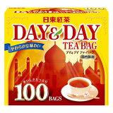 【50円OFFクーポン配布中★1月27日9:59まで】日東紅茶 紅茶ティーバッグデイ&デイ 100バック