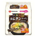 Four meals of agriculture feeling home Korea com tongue ramen (three bags of +1 bag) 110 g [free shipping more than total 1,900 yen!]