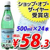 サンペレグリノ 500mlPET 24本 (炭酸水)  【HLSDU】