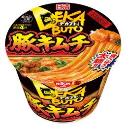 日清デカブト 豚キムチ 103g