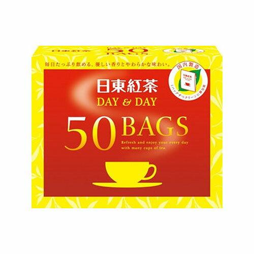 日東紅茶紅茶ティーバッグデイ&デイ50バッグ