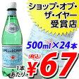 サンペレグリノ 500mlPET 24本 (炭酸水)※お1人様1箱限り