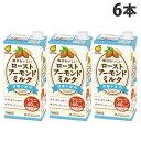 マルサンアイ 毎日おいしい ローストアーモンドミルク 砂糖不使用 1000ml×6本