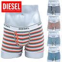 DIESEL(ディーゼル) DIVINE BOXER-SHORTS ボクサーパンツ メンズ 下着 ストライプ men's アンダーウェア
