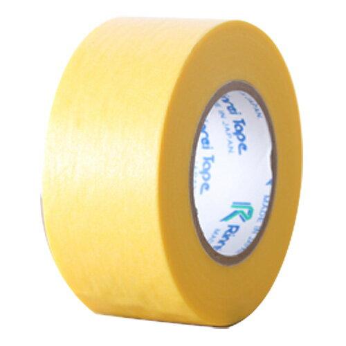 リンレイテープ マスキングテープ 24mm 黄 5巻...:onestep:10070023