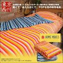 \送料無料/ 東京西川 HOME MAKES ホームメイクス 軽くて暖かい ふんわり ニューマイヤー毛布 シングル 140x200cm FQ06405001