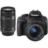 【あす楽対応_関東】【 カード_OK!】CANON(キヤノン)EOS Kiss X7 ダブルズームキット【送料無料】1800万画素 デジタル一眼カメラ