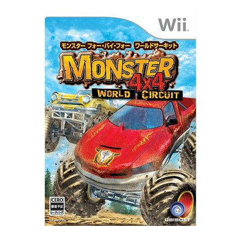 Wii モンスター4×4 ワールドサーキット 未開封新品 ソフト ウィー 任天堂 nintendo ニンテンドー 最安値に挑戦中 [メール便]