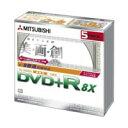 【処分・訳あり】録画用DVD+R 三菱 VTR12HBP5