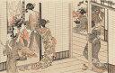 喜多川歌麿筆 狎客座敷圖