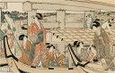 喜多川歌麿筆 両國橋の涼み(其の一)