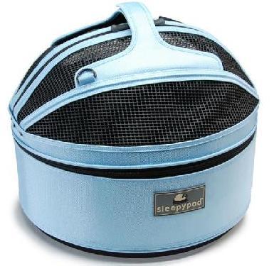 【Sleepypod Mini】スリーピーポッドミニ スカイブルー 快適で安全、居心地の良いベッドとキャリーをひとつに! 超小型犬や猫に最適です