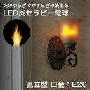 LED炎セラピー 電球 直立型 LDT001-W1 口金E26