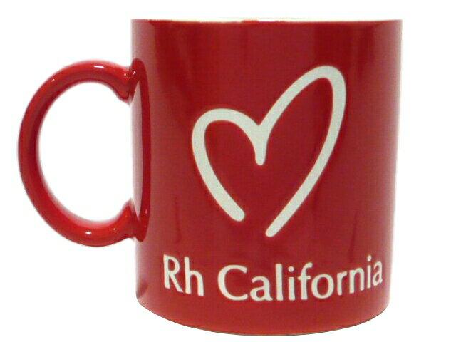 Ron Herman ロンハーマン 京都1周年記念限定★2016AW新品 マグカップ 赤 RED