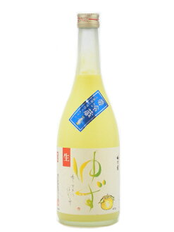 NARA plum] Inn still cool yuzu students 720 ml yuzu sake summer specials