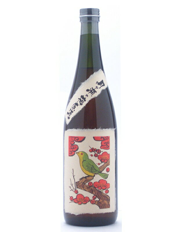 Nara Prefecture Yagi brewing tsukigase plum unblended 720 ml hanafuda series