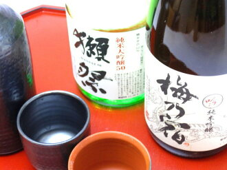 """Drinking gift set 1"" Dassai, plum Yoshino-shuku 720ml×2 book"